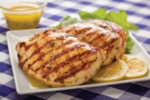 Grilled Lemon Mint Chicken