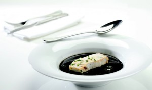 fish black soup
