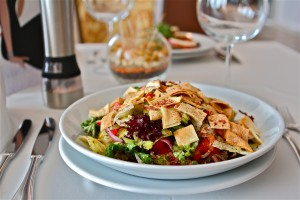 Fattoush-salad